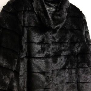 Kristen Blake Jackets & Coats - NWT Kristen Blake Black Faux Fur Jacket Size XL